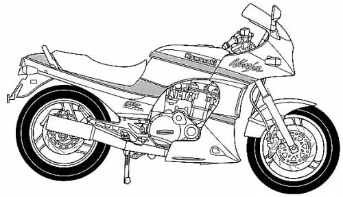 Kawasaki GPZ900R Ninja (2002)