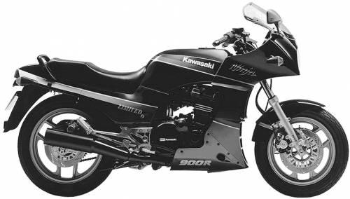 Kawasaki GPZ900R NinjaLimited (1989)