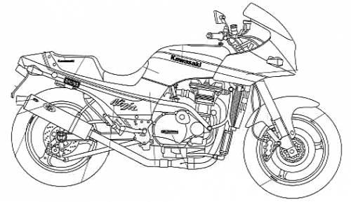 Kawasaki GPZ900R Tsukigi Racing