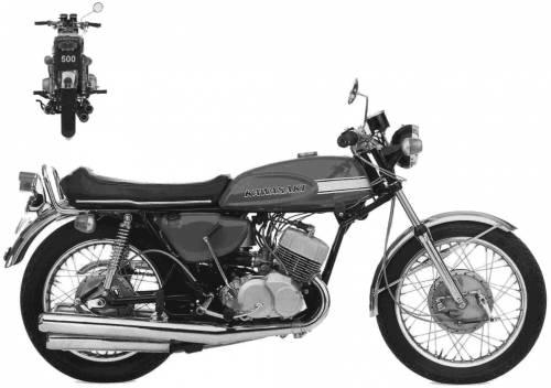 Kawasaki H1 Mach3 (1970)