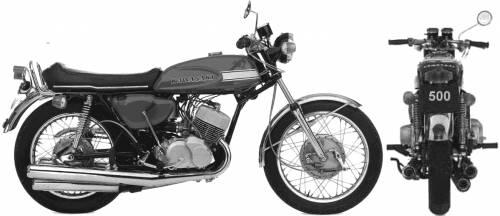 Kawasaki H1 Mach III (1970)