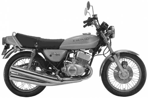 Kawasaki KH400 (1972)
