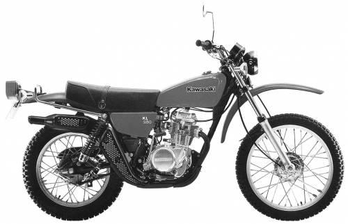 Kawasaki KL250 (1978)