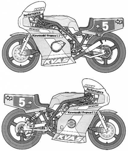 Kawasaki KR1000F Endurance Racer