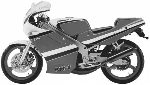 Kawasaki KR1 (1989)