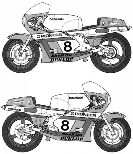 Kawasaki KR500 GP Racer