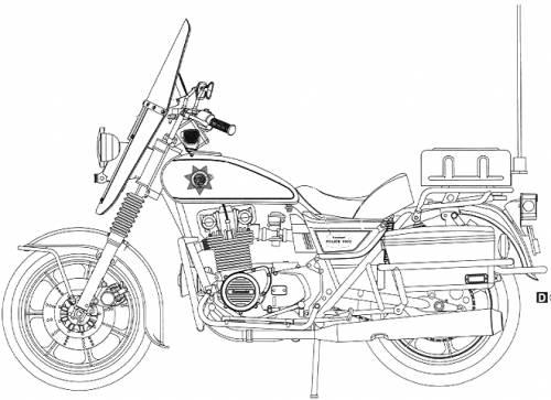 Kawasaki KZ1000 C1