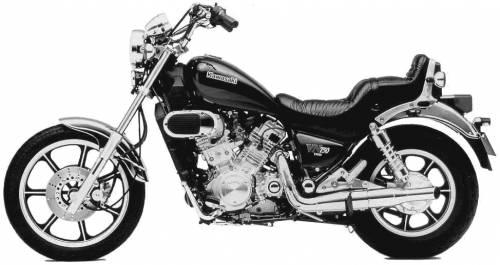 Kawasaki VN750 (1986)
