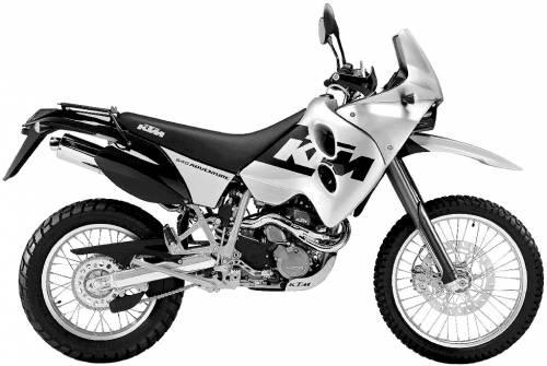KTM 640LC4 Adventure (2003)