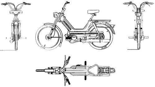 KTM Hobby 3 2 Gang (1974)