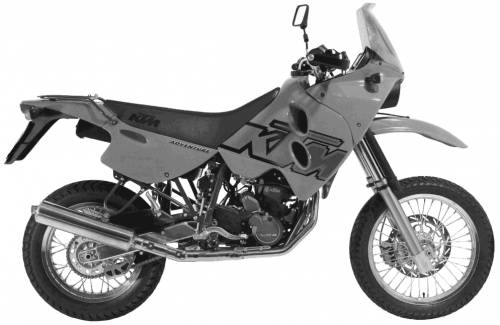 KTM LC4 Adventure (1999)