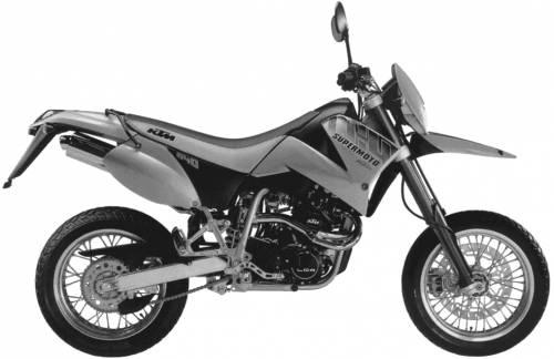 KTM LC4 E640 Supermoto (2001)