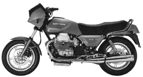 Moto Guzzi 850 T5 (1985)