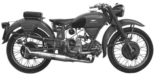 Moto Guzzi Airone250 (1939)