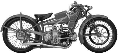 Moto Guzzi C4V 500 (1926)