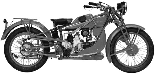 Moto Guzzi GT Norge500 (1928)