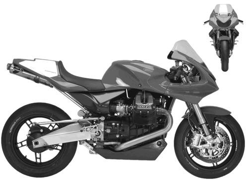 Moto Guzzi MGS 01 Corsa (2005)