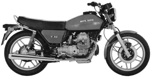 Moto Guzzi V50 (1976)
