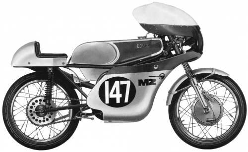 MZ RE125 (1964)