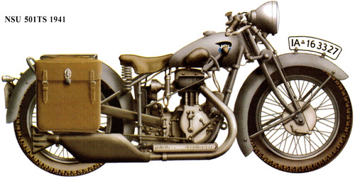 NSU 501TS (1941)