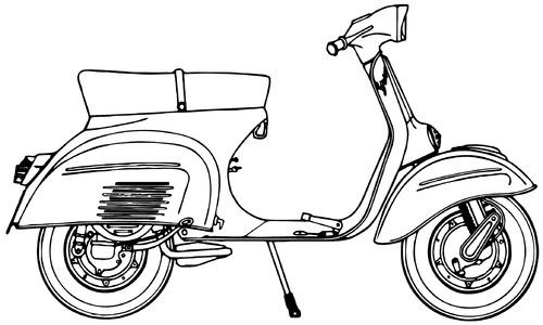 Piaggio Vespa 125 Sprint (1969)
