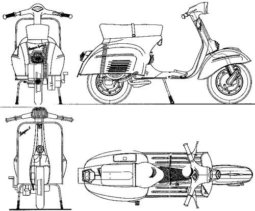 Piaggio Vespa Sprint 125 (1967)