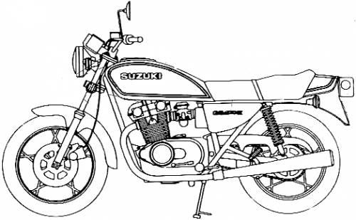 Suzuki GS400E