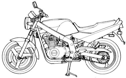 Suzuki GS500 (2008)