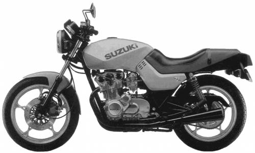 Suzuki GS550 Katana (1982)