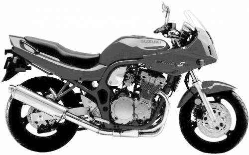 Suzuki GSF600S Bandit (1997)
