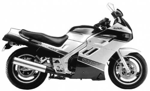 Suzuki GSX1100F (1989)
