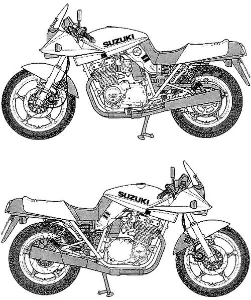 Suzuki GSX1100S Katana (1981)