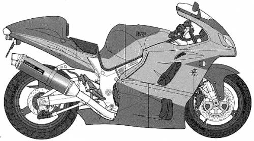 Suzuki GSX1300R Yoshimura Hayabusa X-1 (1999)