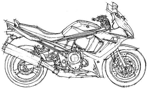 Suzuki GSX 650F (2011)