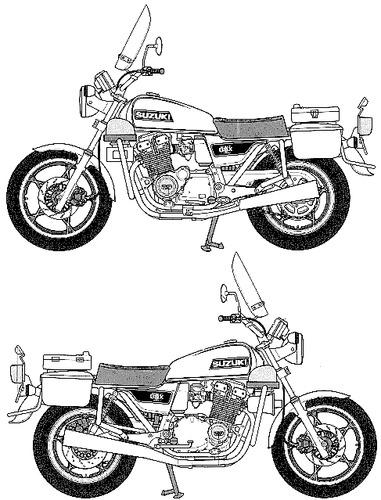 Suzuki GSX 750 Police (1979)