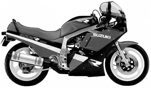 Suzuki GSX R1100 (1988)