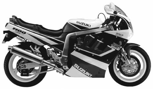 Suzuki GSX R1100 (1991)