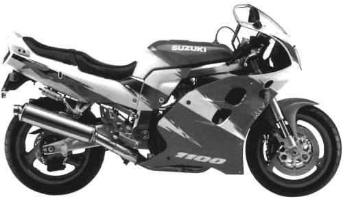Suzuki GSX R1100W (1993)
