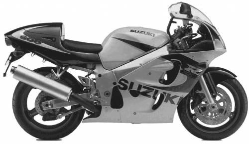 Suzuki GSX R600 (1999)