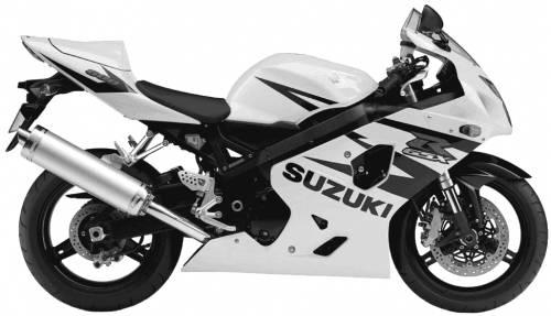 Suzuki GSX R600 (2004)