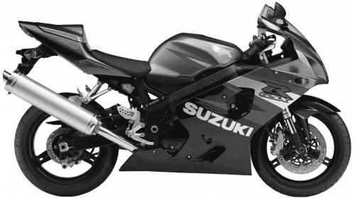 Suzuki GSX R750 (2004)