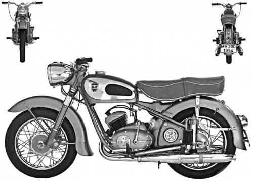Adler MB200 (1954)