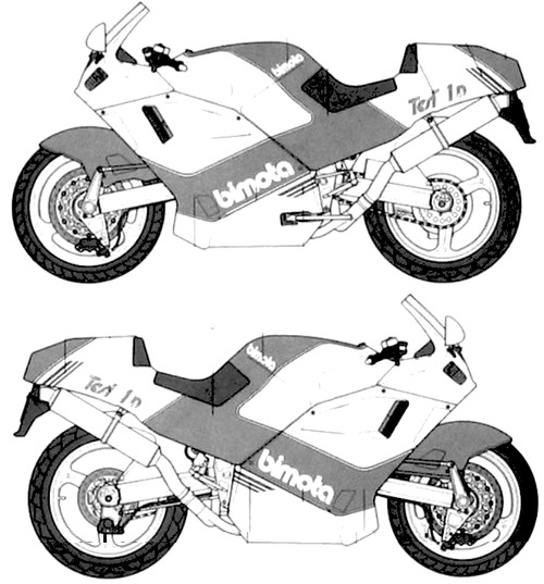 Bimota Tesi 906SR (1990)