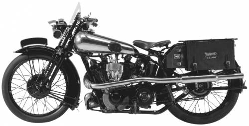 Brough Superior SS100 (1926)