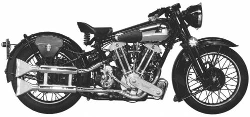 Brough Superior SS100 (1938)