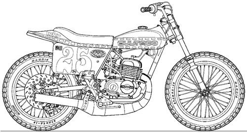 Bultaco Astro WKR Racer