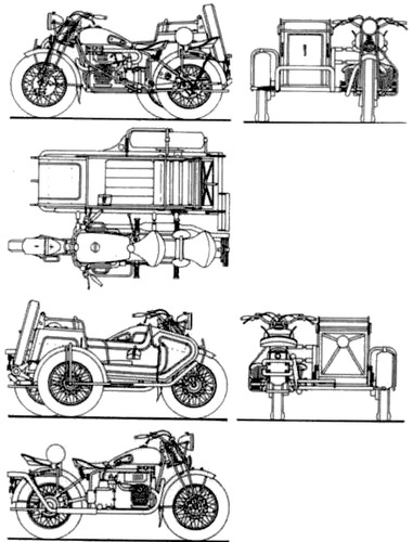 FN M12A SM 1000cc (1938)