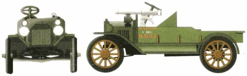 Ford Model T MMGS (1917)