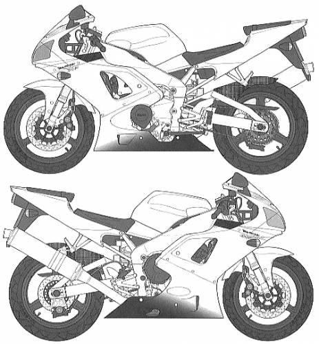 Full View Yamaha YZF-R1 Taira Racing