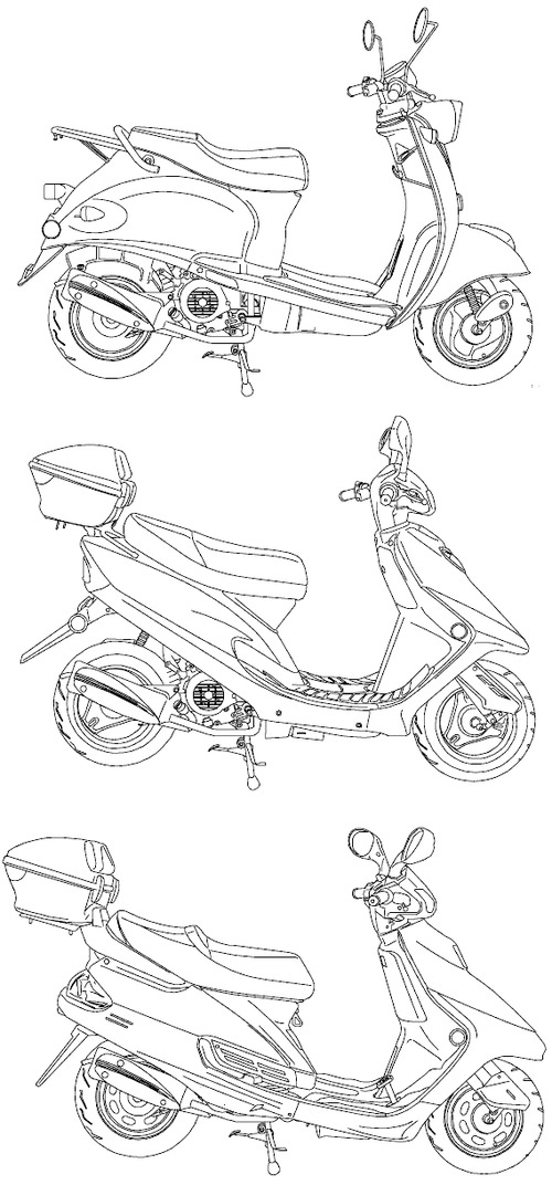 Geely 49cc Scooter